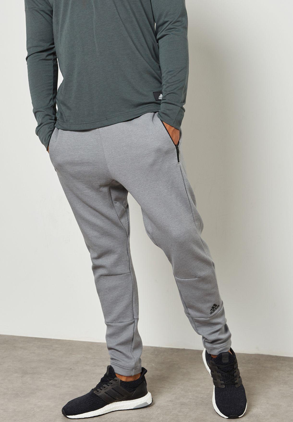 898a1a2da Shop adidas grey ID Champ Sweatpants BP6626 for Men in Saudi ...