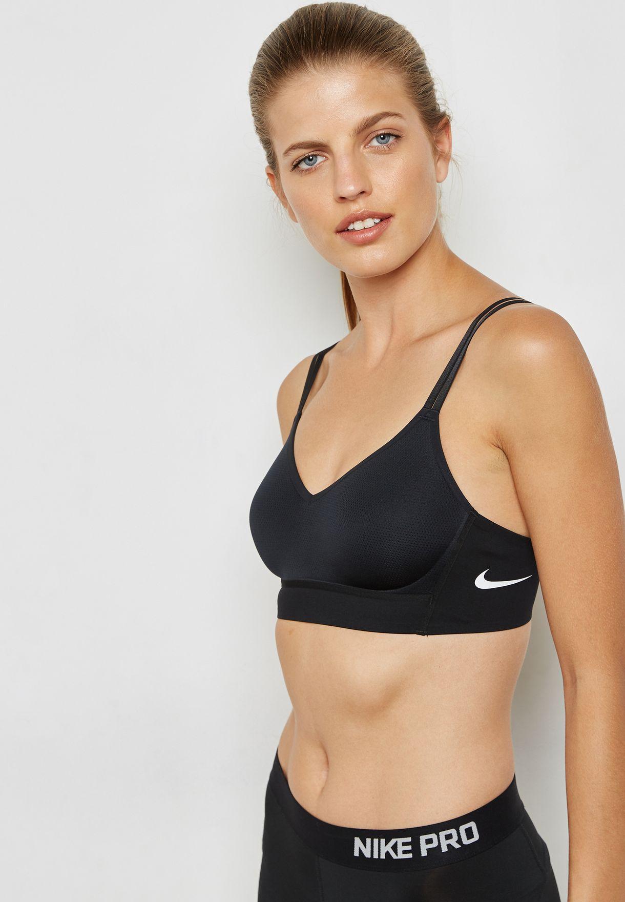 1c3228d473481 Shop Nike black Indy Breathe Bra AA4214-010 for Women in Saudi ...