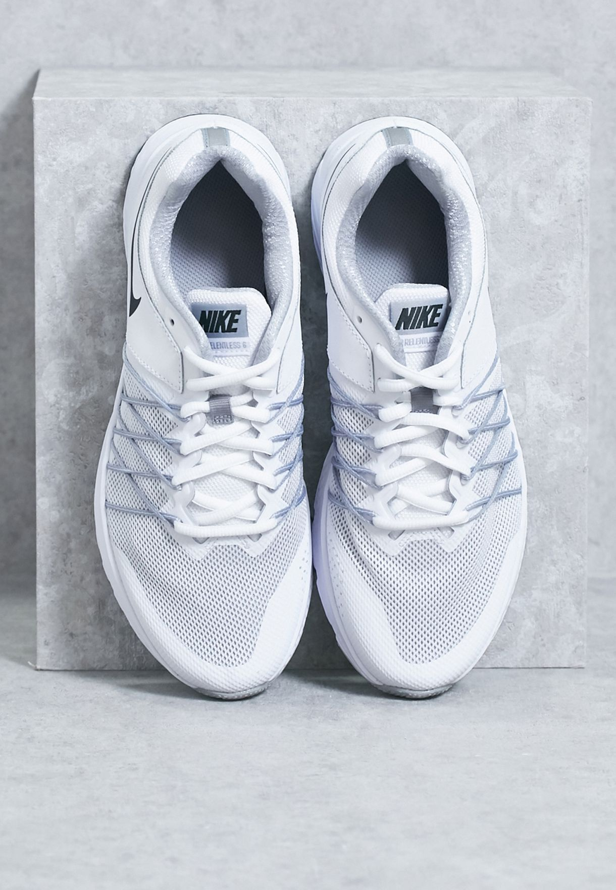 e94749323a7 Shop Nike white Air Relentless 6 843882-100 for Women in Saudi ...