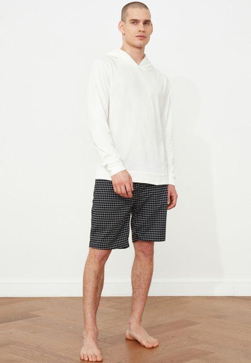 Checked Pyjama Set
