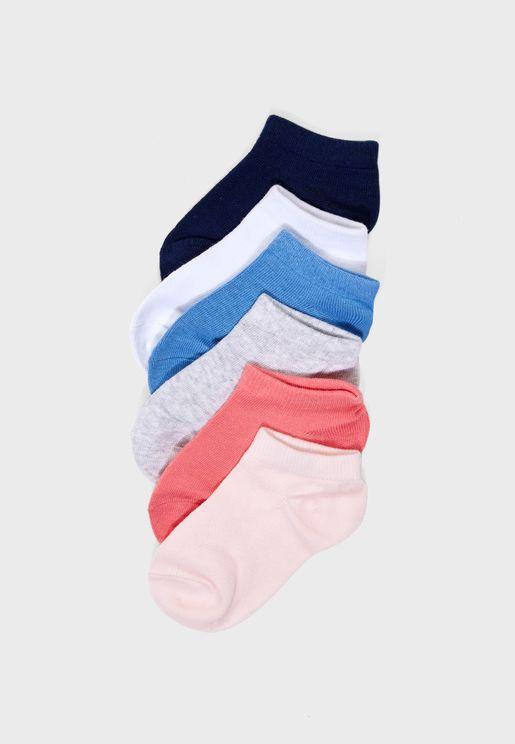 Kids 7 Pack Socks