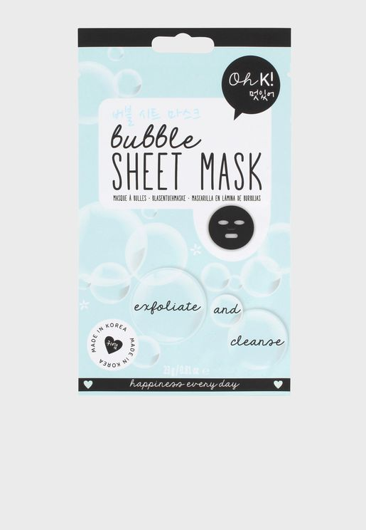 Bubble - Sheet Mask