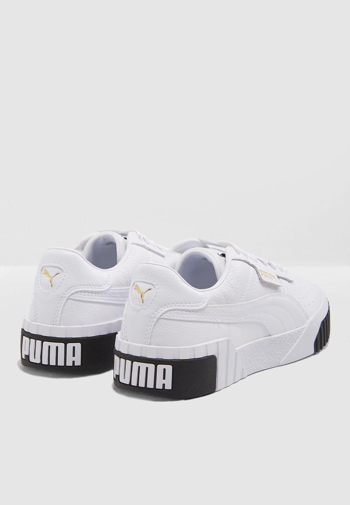 Buy PUMA white Cali for Women in MENA