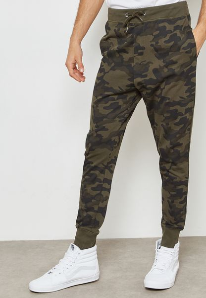 Spikec Camo Sweatpants