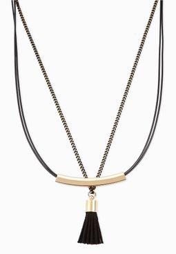 Tassel Detail Necklace