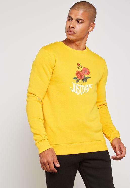 Wavey Blossom Sweatshirt