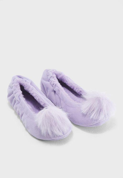 Faux Fur Bedroom Slipper