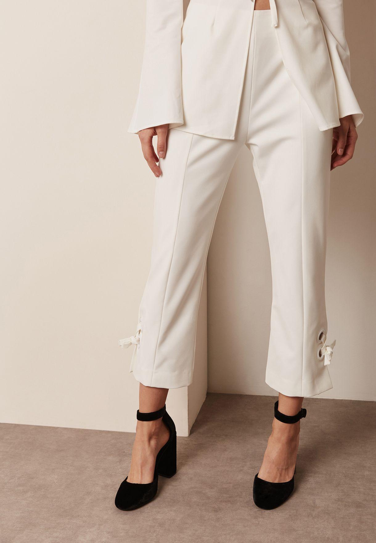 Tie Detail Pants
