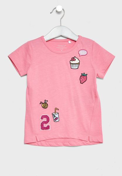 Infant Patched T-Shirt