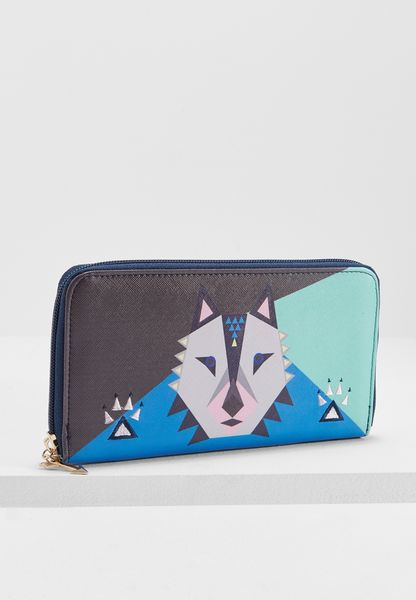 Dakota Wolf  Wallet