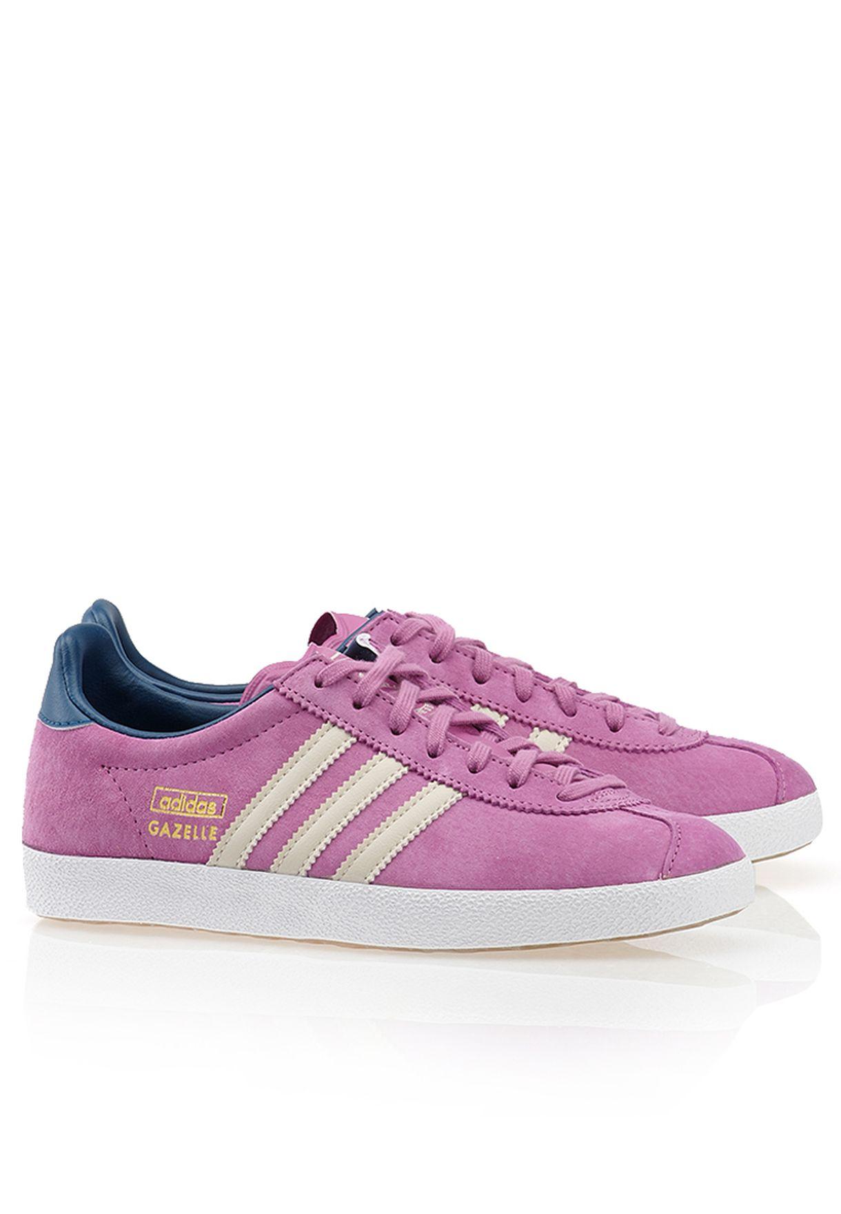 558d4f1b94b Shop adidas Originals purple Gazelle OG Sneakers D67855 for Women in ...