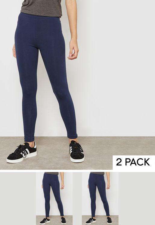 2 Pack Essential Leggings