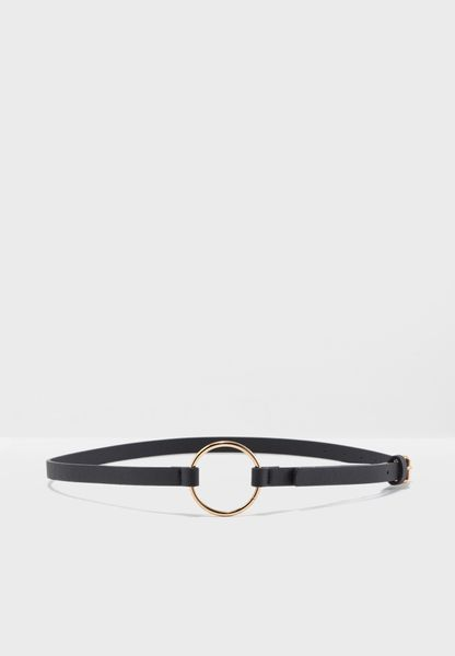 Side Circle Ring Belt