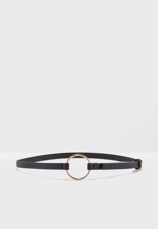 حزام  خصر بحلقة دائرية