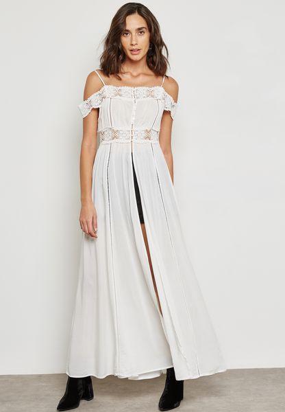 فستان بأجزاء كروشيه