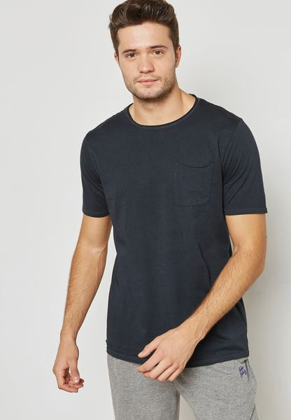 Zac Pocket Detail T-Shirt