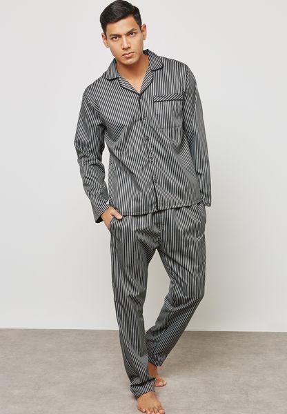 Pin Striped Pyjama Set