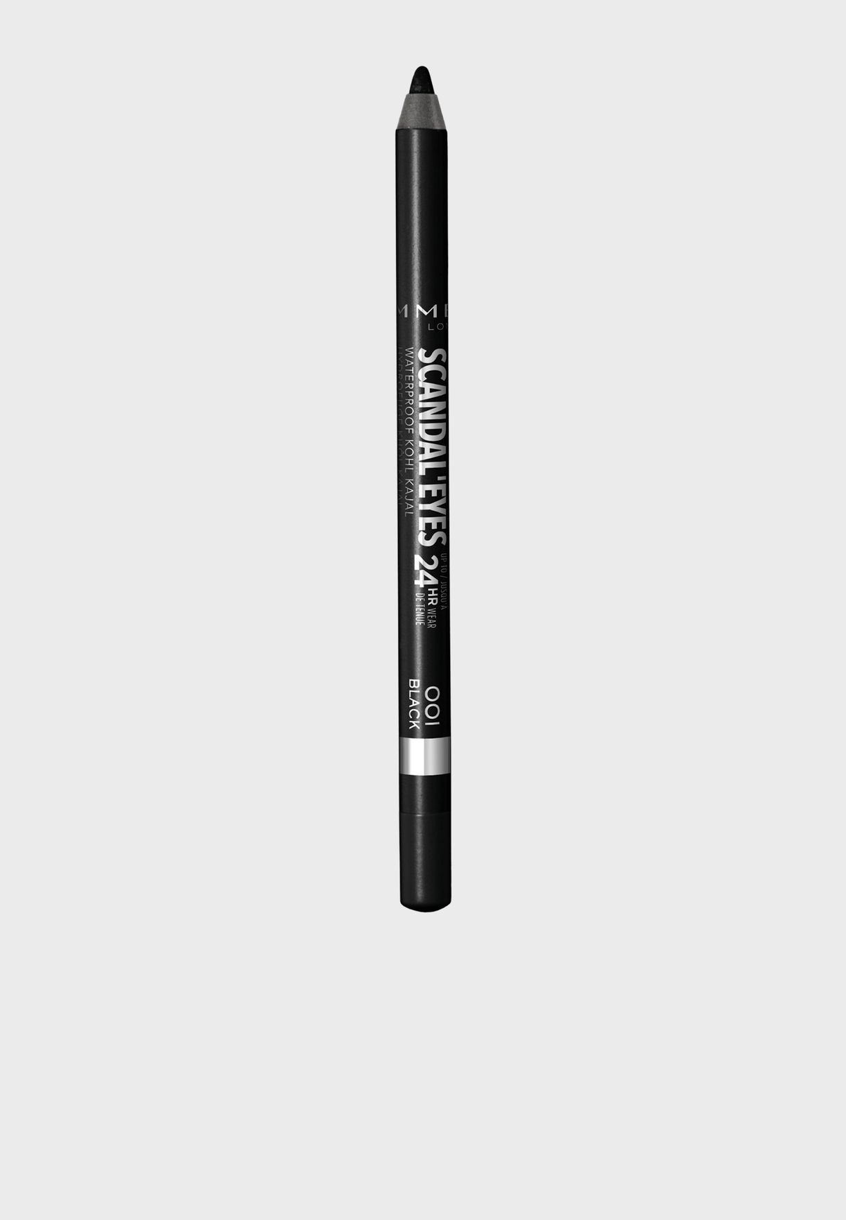 Scandaleyes Waterproof Kohl Kajal Liner- 001 Black
