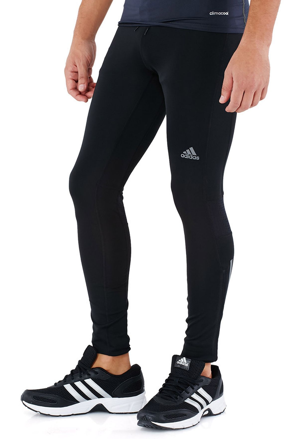e2fec616fa716 Shop adidas black Supernova Tights G89623 for Men in UAE - AD476AT90FJP