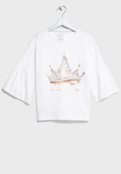 Tween Crown Top