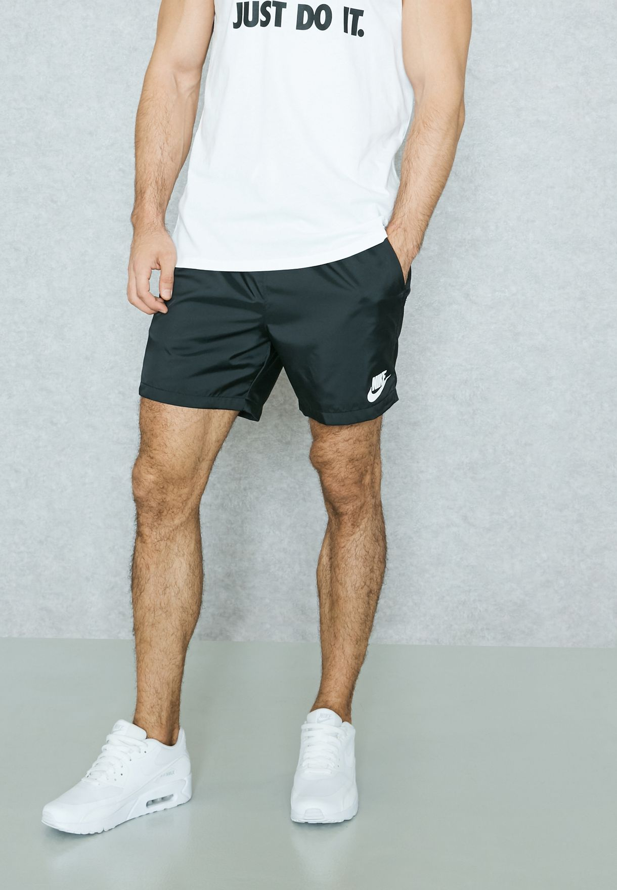 2f76f9b18164df Shop Nike black Woven Shorts 832230-010 for Men in UAE - NI727AT90WZX