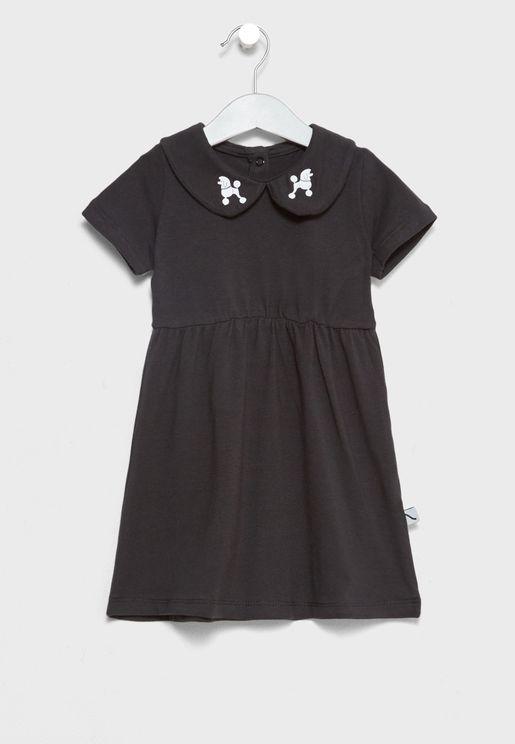 Little Collar Detail Dress