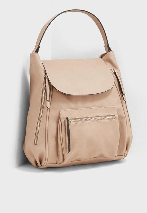 Hybrid Hobo Backpack