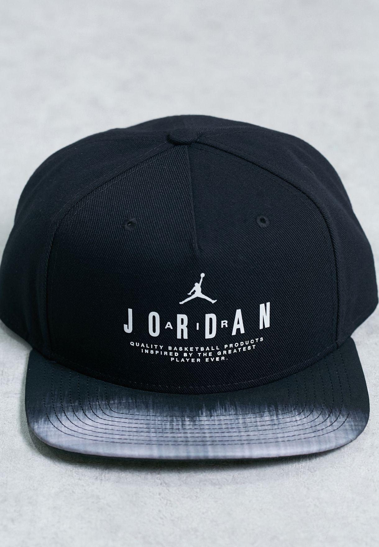 Shop Nike black Jordan Modern Heritage Snapbk 834893-010 for ... 93d89caacd8