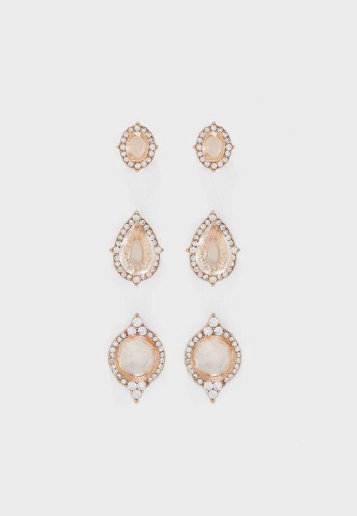 Multipack Graressa Earrings