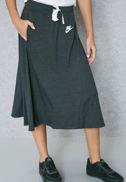 Shop Nike grey Gym Classic Skirt 854951-032 for Women in UAE - NI727AT90ASZ