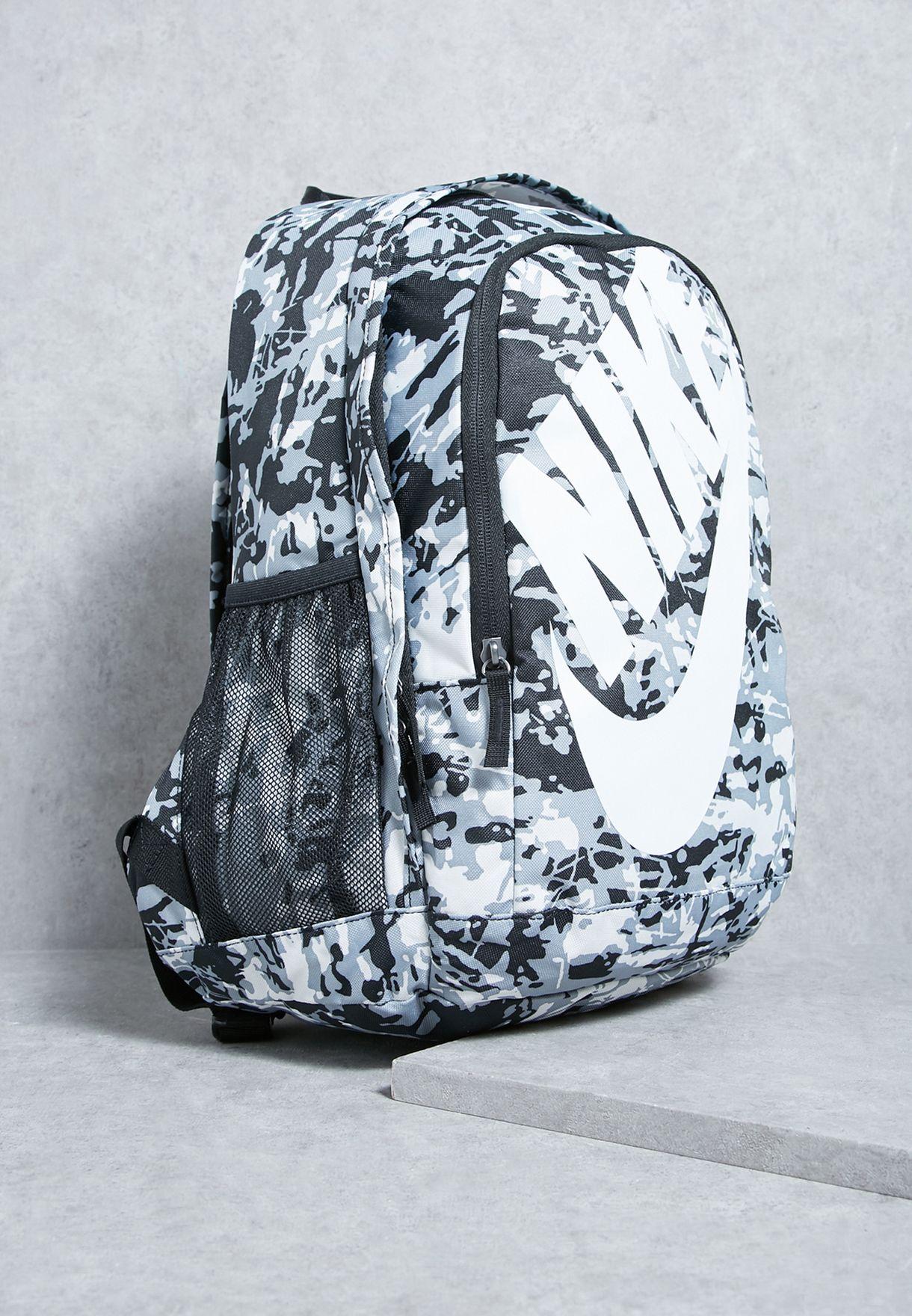 Shop Nike black Hayward Futura 2.0 Printed Backpack BA5273-011 for ... 3b6f50905e