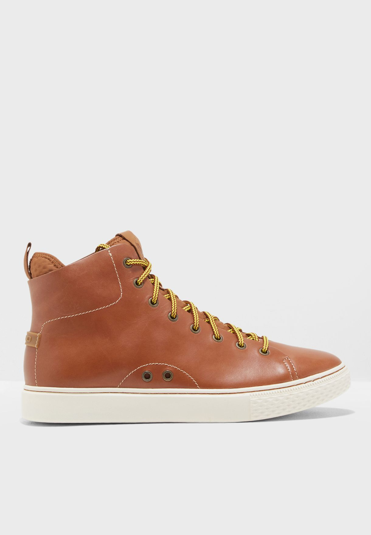 acf03cc2bf Shop Polo Ralph Lauren browns Dleaney Sneakers 816713102002 for Men ...