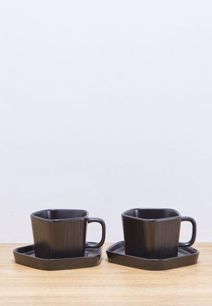 2 Pc Set of Teacups