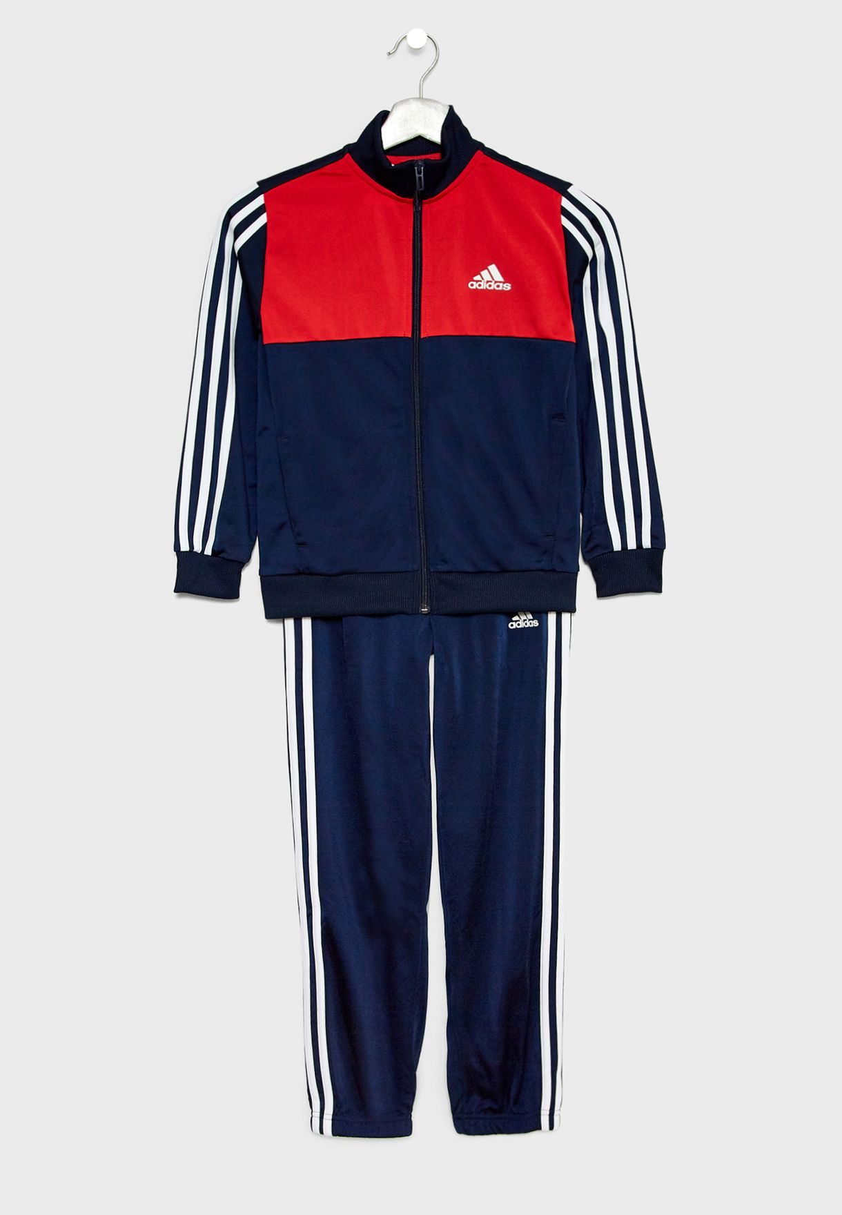 dd05d3e1632c Shop adidas navy Youth Tibero Tracksuit DI0179 for Kids in Globally ...