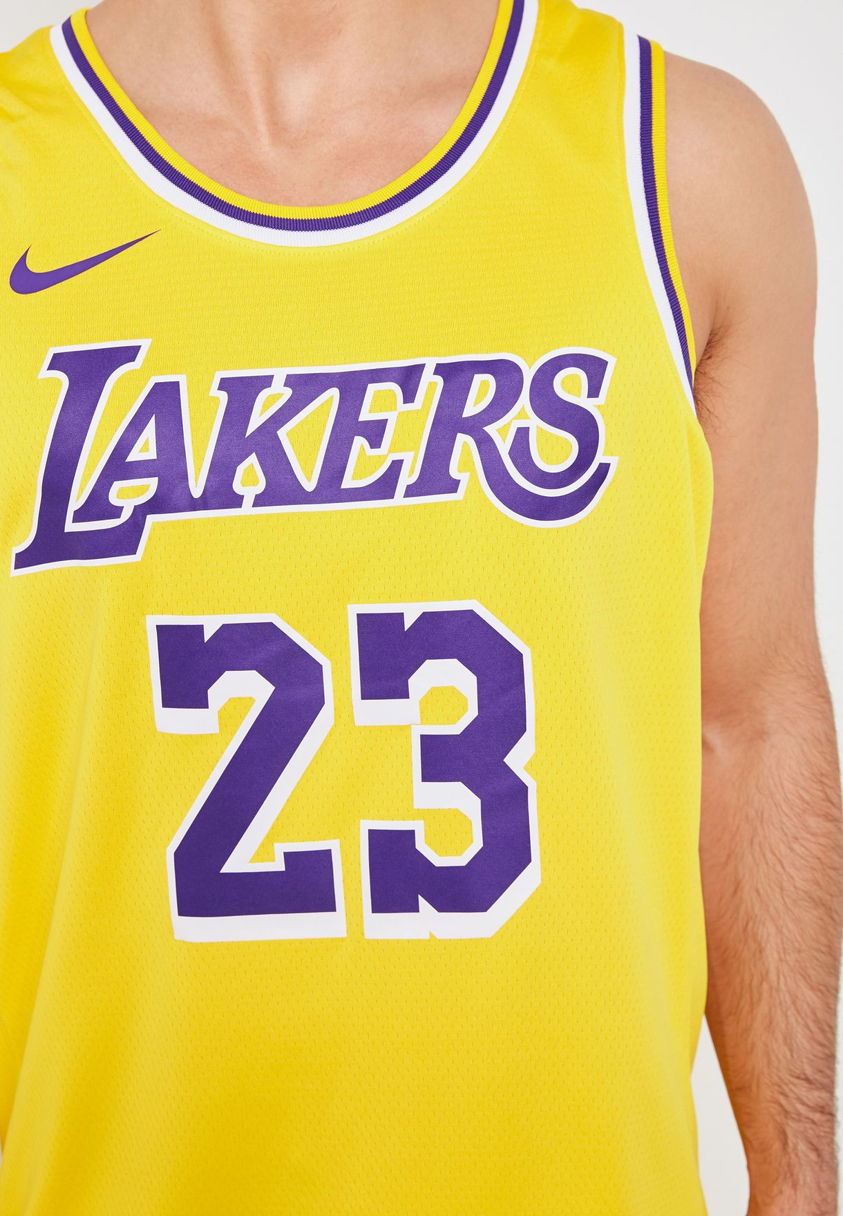 the latest 16c3e 78360 Los Angeles Lakers LeBron James Swingman Jersey