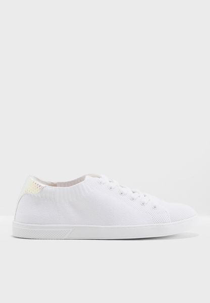 Lace Up Low Top Sneaker