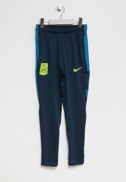Shop Nike Blue Neymar DriFIT Squad Sweatpants For Kids - Skin para minecraft pe de neymar