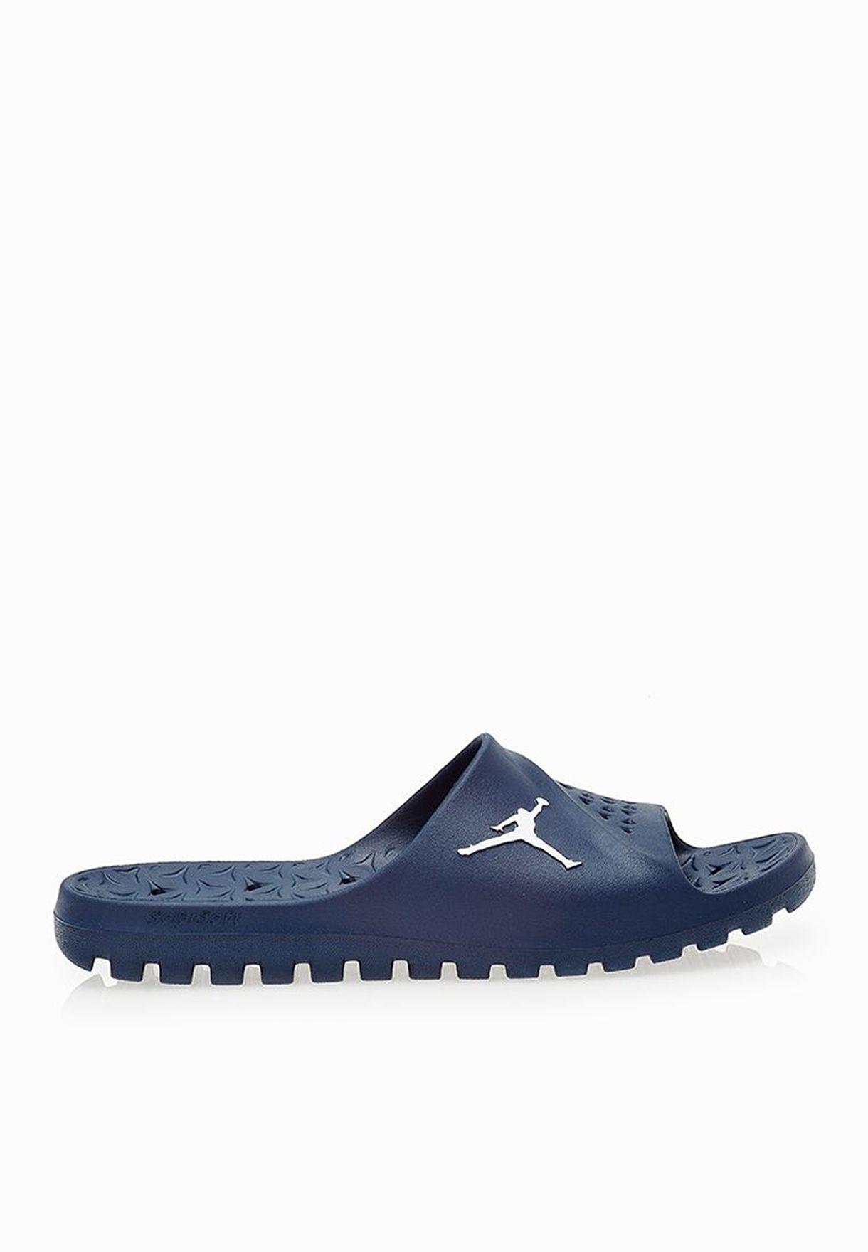 81ff860fa99 Shop Nike navy Jordan Super Fly Team Slide 716985-400 for Men in ...