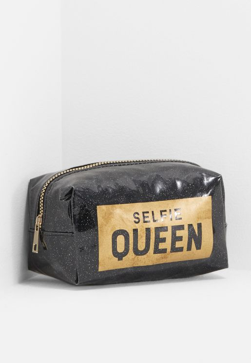 Selfie Queen Make Up Cosmetic Bag d9aa942997110