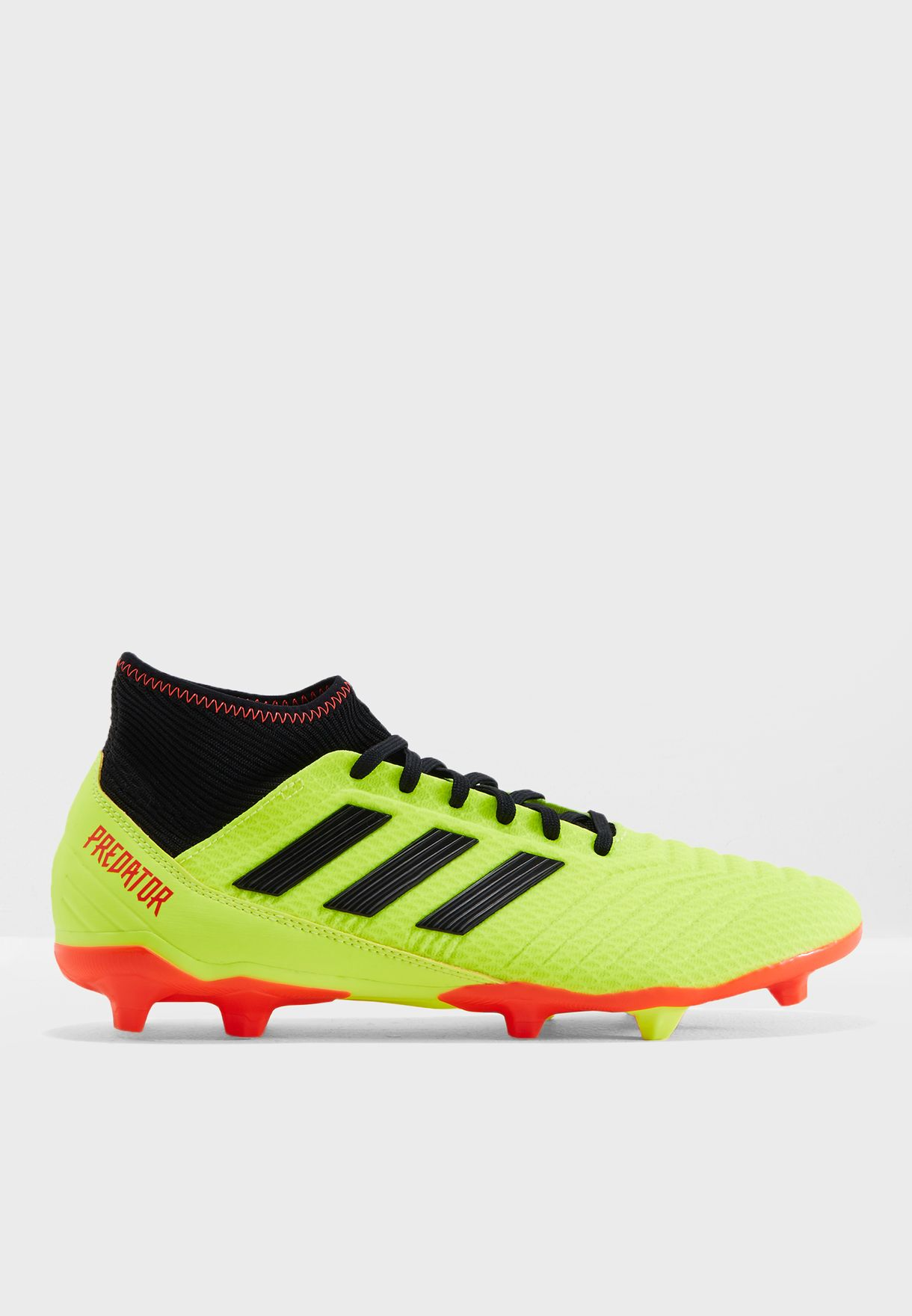 Shop adidas yellow Predator 18.3 FG DB2003 for Men in Kuwait ... 39bab81e0b9f2