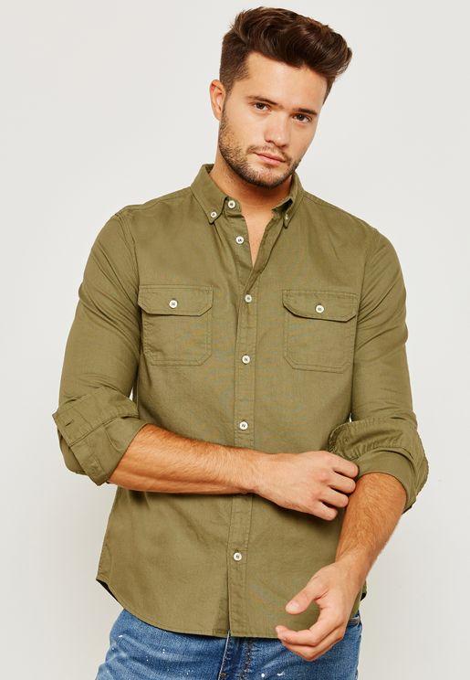 Oxford Two Pocket Shirt
