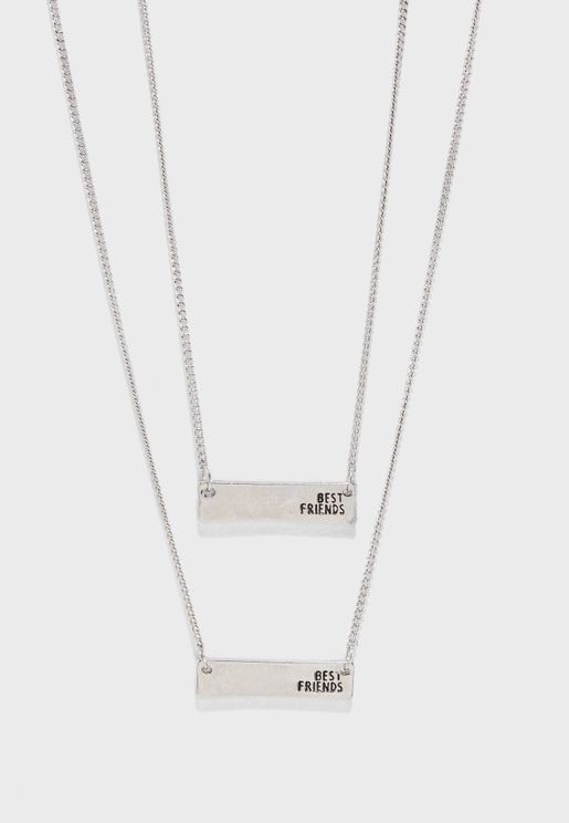 2 Pack BFF Necklace
