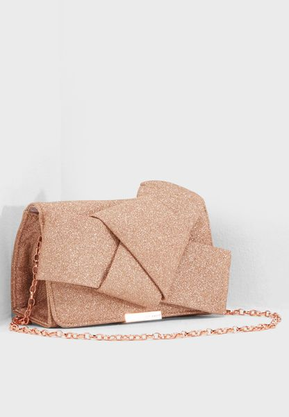 Fefee Knot Bow Clutch