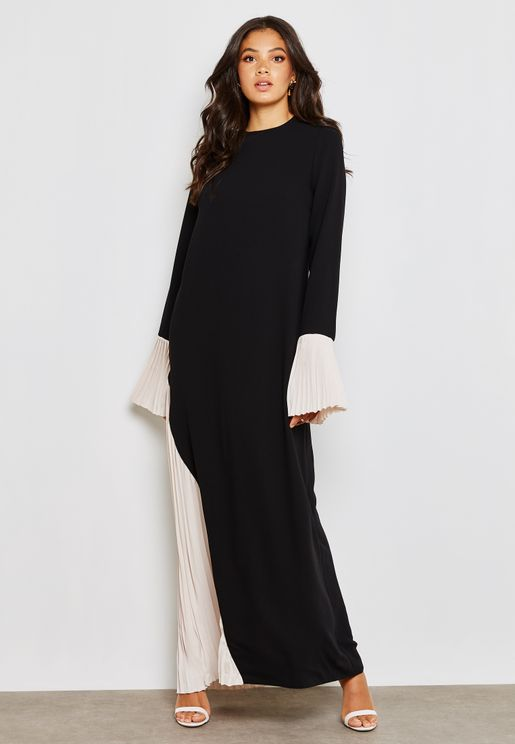 Pleated Detailed Dress