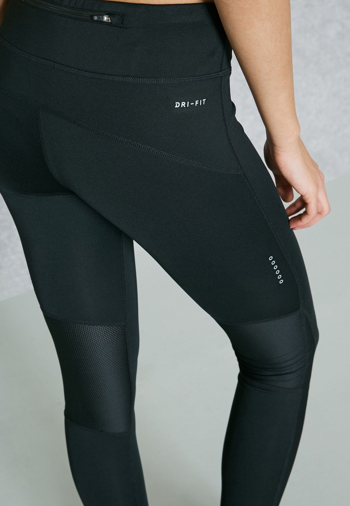 56bec8a765746 Shop Nike black Power Racer Tights 863698-010 for Women in UAE ...