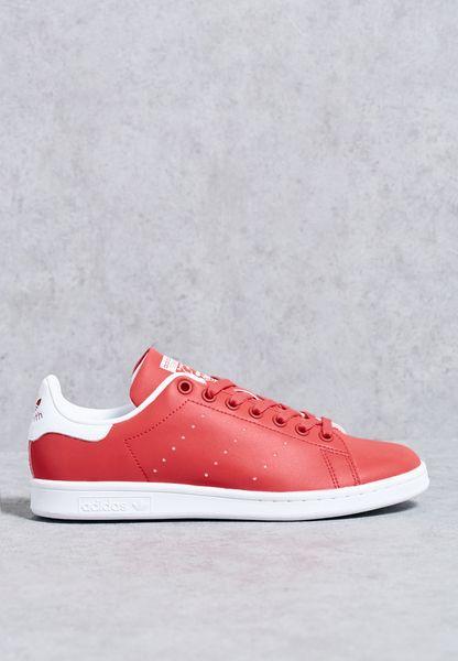 buy popular 754e8 c407c good Shop Adidas originals red Stan Smith BB5154 for Women ...