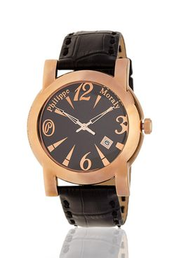 Philippe Moraly Rose Gold Watch