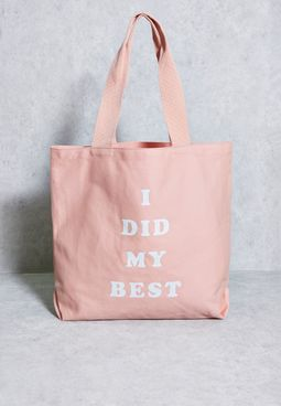 I Did My Best Tote