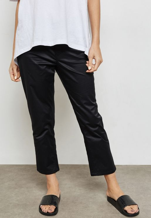 Revive Raw Hem Straight Jeans