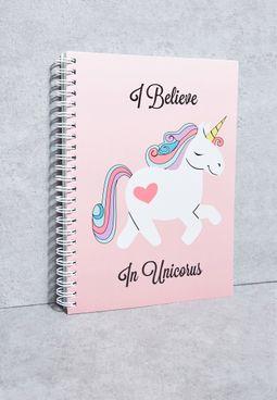 B5 Unicorn Notebook